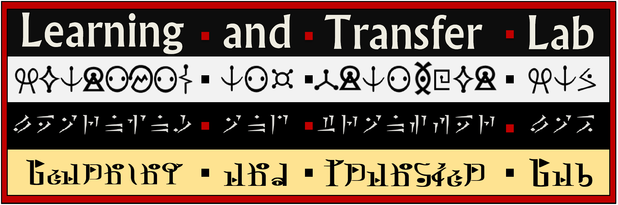 Learning and Transfer Lab banner logo